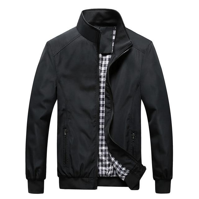 Jacket Men Fashion Casual Loose Mens Jacket Sportswear Bomber Jacket Mens jackets and Coats Plus Size