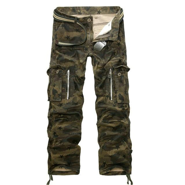 Men Military Cargo Pants Men Camouflage Tactical Casual Cotton Casual Trousers Men Pantalon Hombre