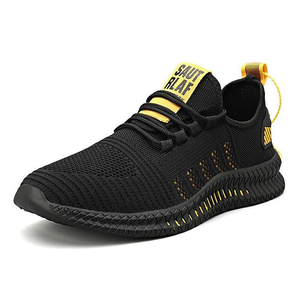 Men's Summer / Fall Sporty / Casual Athletic Daily Trainers / Athletic Shoes Running Shoes / Fitness & Cross Training Shoes Tissage Volant Breathable Black / White / Black / Yellow / Orange / Black