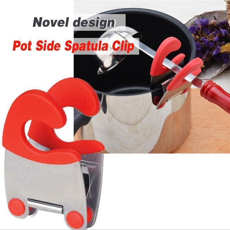 Spatula Holder Pot Clip