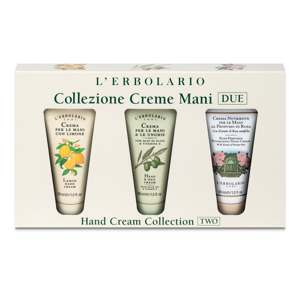 Kit - Tris creme mani DUE 30 ml - Qshops (L'Erbolario)