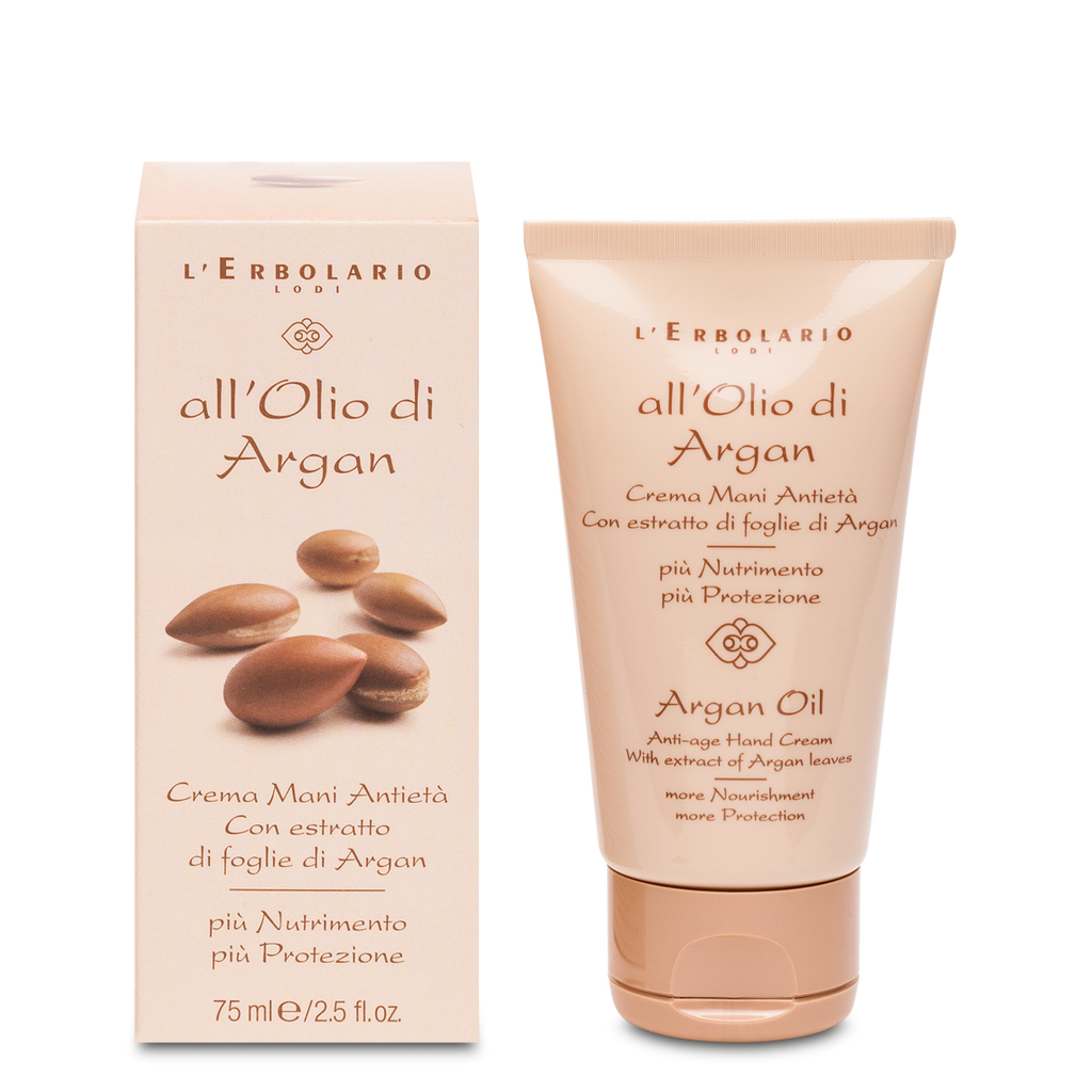 All'olio Di Argan - Crema Mani - Q Shops