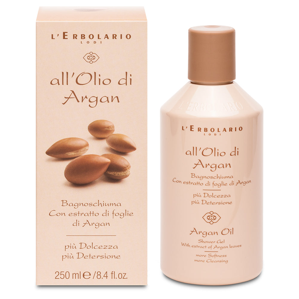 All'Olio di Argan - Bagnoschiuma