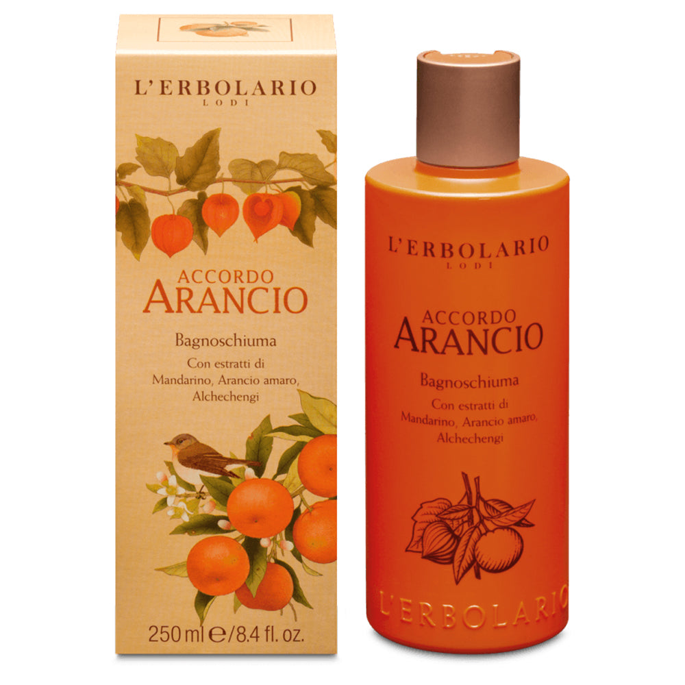 Accordo Arancio - Bagnoschiuma 250 ml - Q Shops