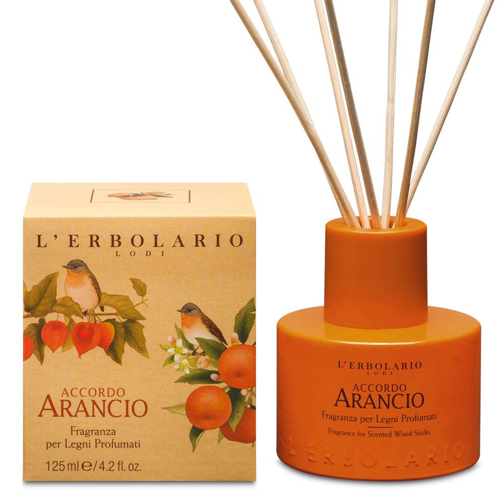 Accordo Arancio - Fragranza Per Legni Profumati 125 ml - Q Shops