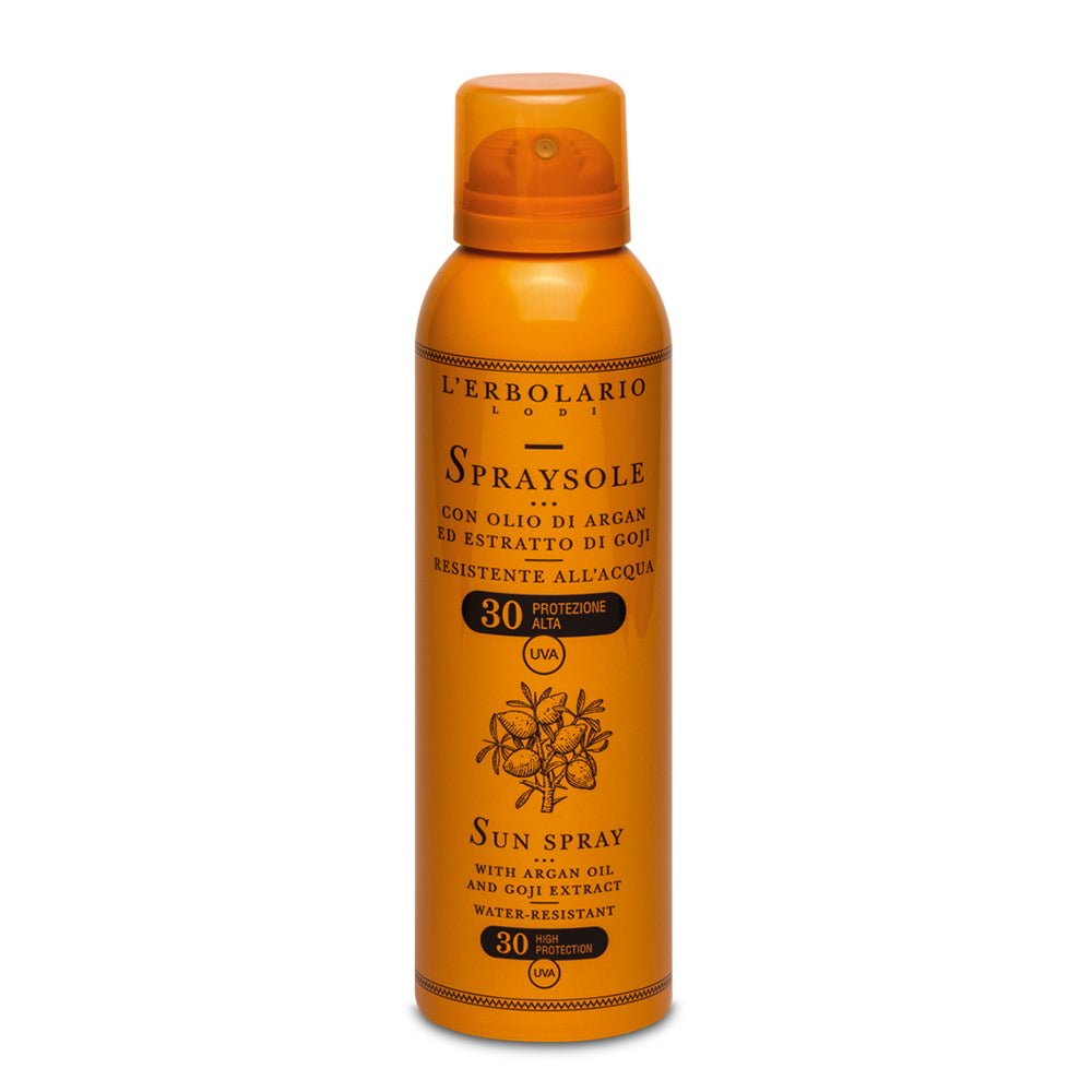 Spraysole All'Olio di Argan ed estratto di Goji - Q Shops