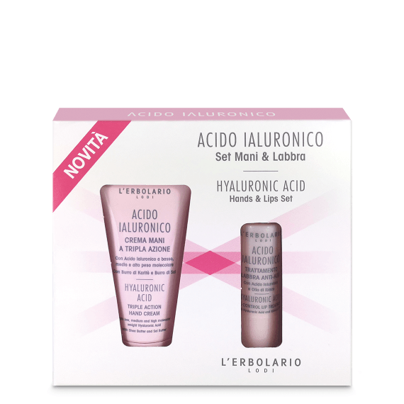 Acido Ialuronico - Set Mani & Labbra Acido Ialuronico