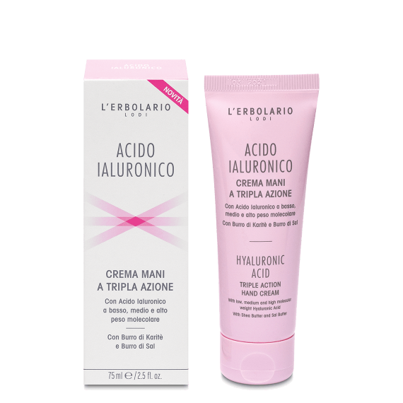 Acido Ialuronico - Crema Mani 75ml - Q Shops