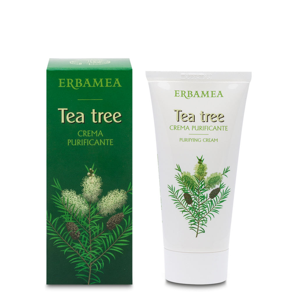 Tea Tree – Crema Purificante Tea Tree 50 ml - Qshops (L'Erbolario)