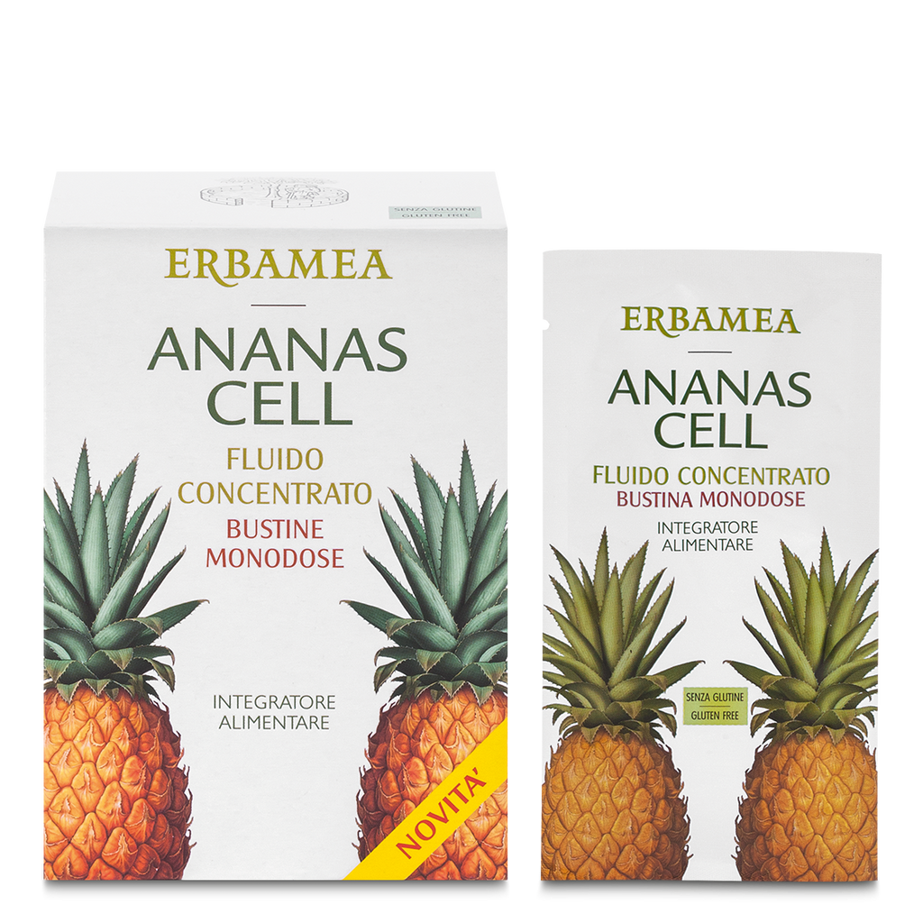 Ananas Cell - Fluido Ananas Cell In Bustine Monodose 15 bustine da 20ml - Q Shops