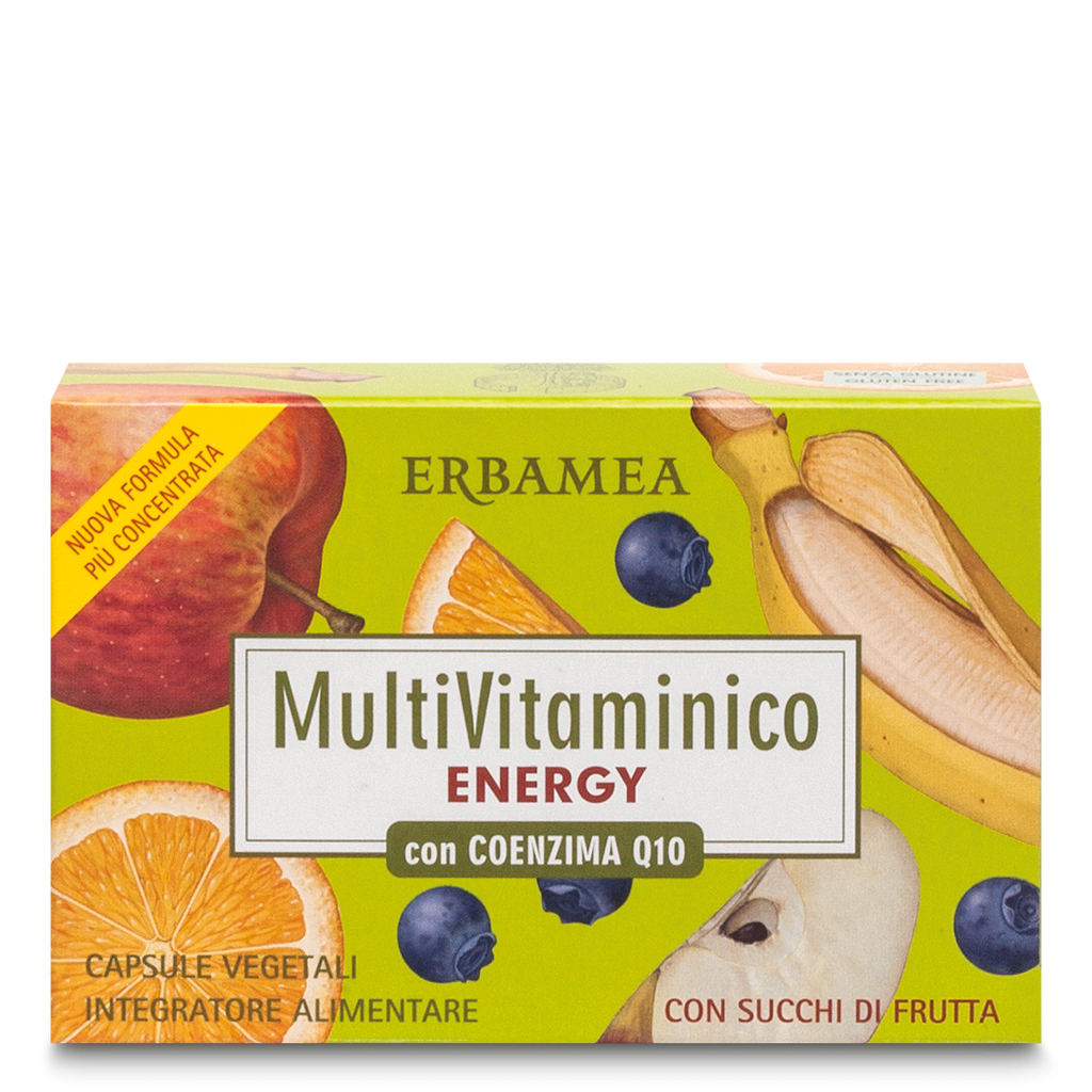Erbamea - Integratore Multivitaminico Energy 24 capsule - Q Shops