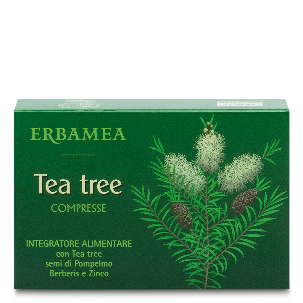 Tea Tree - Integratore Tea Tree 30 compresse - Q Shops