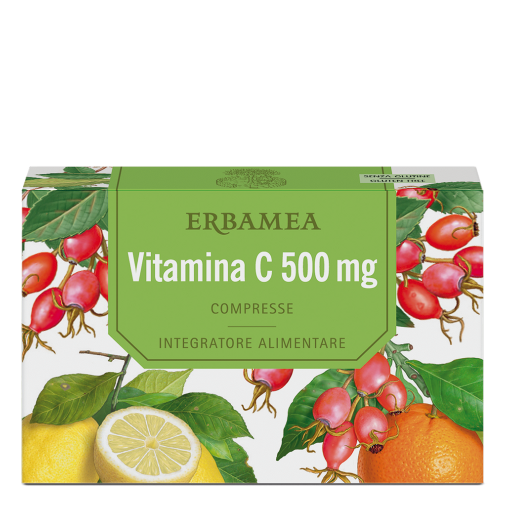 Erbamea - Integratore Vitamina C 500 mg 24 compresse - Q Shops