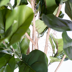 Faux Fiddle Leaf Ficus 180cm close up stem