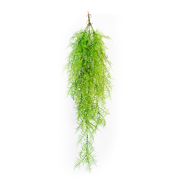 Artificial Hanging Asparagus fern 112cm green