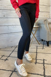Ivy Full Length Compression Leggings With Pockets : Black