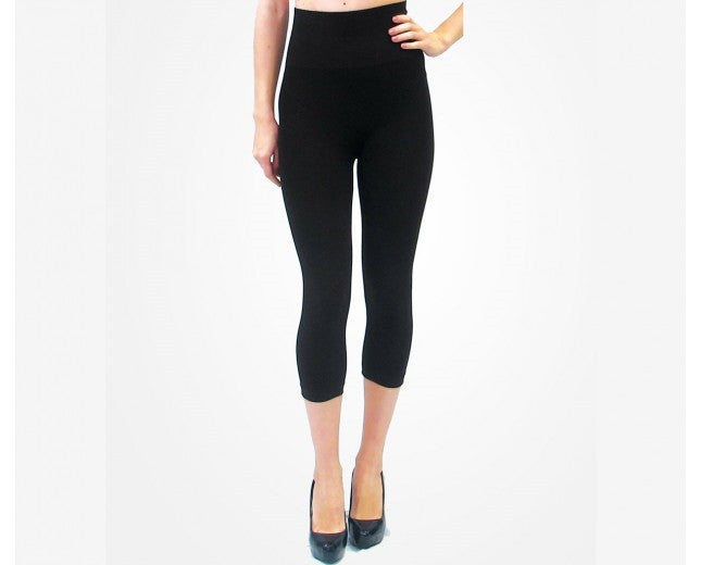 * Elietian High Waisted Cropped Legging: One Size : more colors