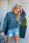 Make It Yours Dolman Sleeve Sweater : Charcoal