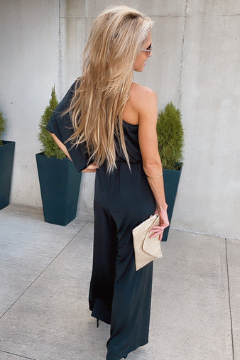 Set Yourself Free Jumpsuit : Black