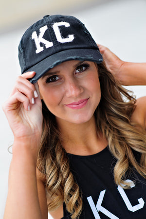 * 1KC Baseball Hat : Black