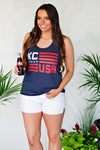 * Flint And Fields KC USA Tank: Navy