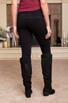 Elietian Fleece Lined Leggings : Black
