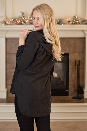 Breezy Babe Lightweight Jacket : Black