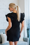 Lavish Lifestyle Sheath Dress : Black