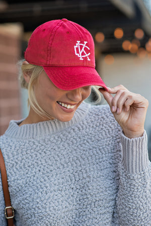 Flint & Field KC Arrowhead Hat : Red