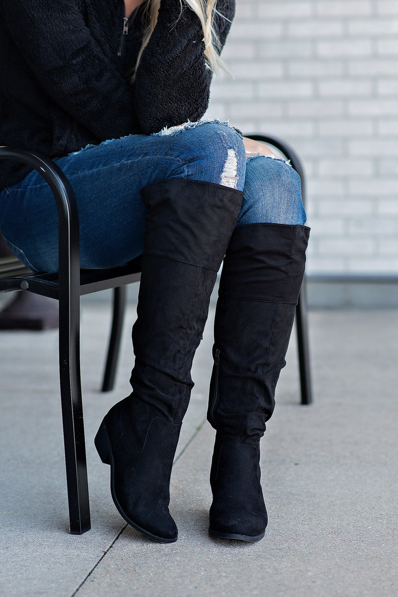Madeline Tall Story Over The Knee Boots