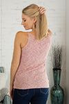 Big Love Knit Tank : Blush