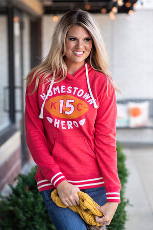 Flint & Field Homestown Hero Hoodie : Red
