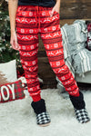 Holiday Soft Jogger Pajama Pants : Reindeer