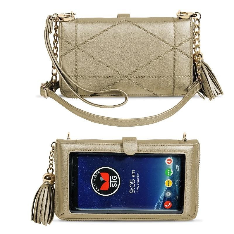 The Allure Touch Screen Purse