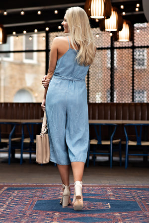 Get Your Facts Straight Jumper :Chambray