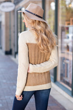 Mountain Air Cable Knit Sweater : Ivory