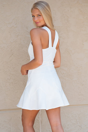What A Perfect Day Flare Dress : Off White