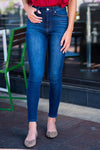 KanCan Super High Rise Super Skinny Jeans : Medium Wash