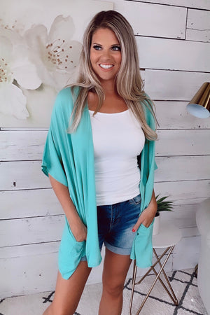Always With You Kimono : Mint