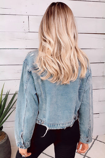 To Be Expected Denim Jacket : Denim