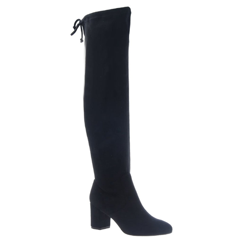* Burdock Black Over The Knee Boots