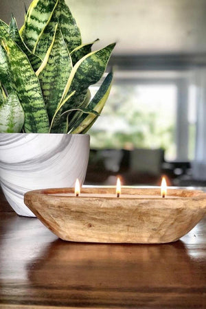 Dough Bowl 3-Wick Soy Candle : Multi