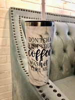Graphic Tall 22 oz Coffee/Water Tumbler : 7 options