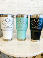 30oz Stainless Steel Tumbler : Lake Of The Ozarks