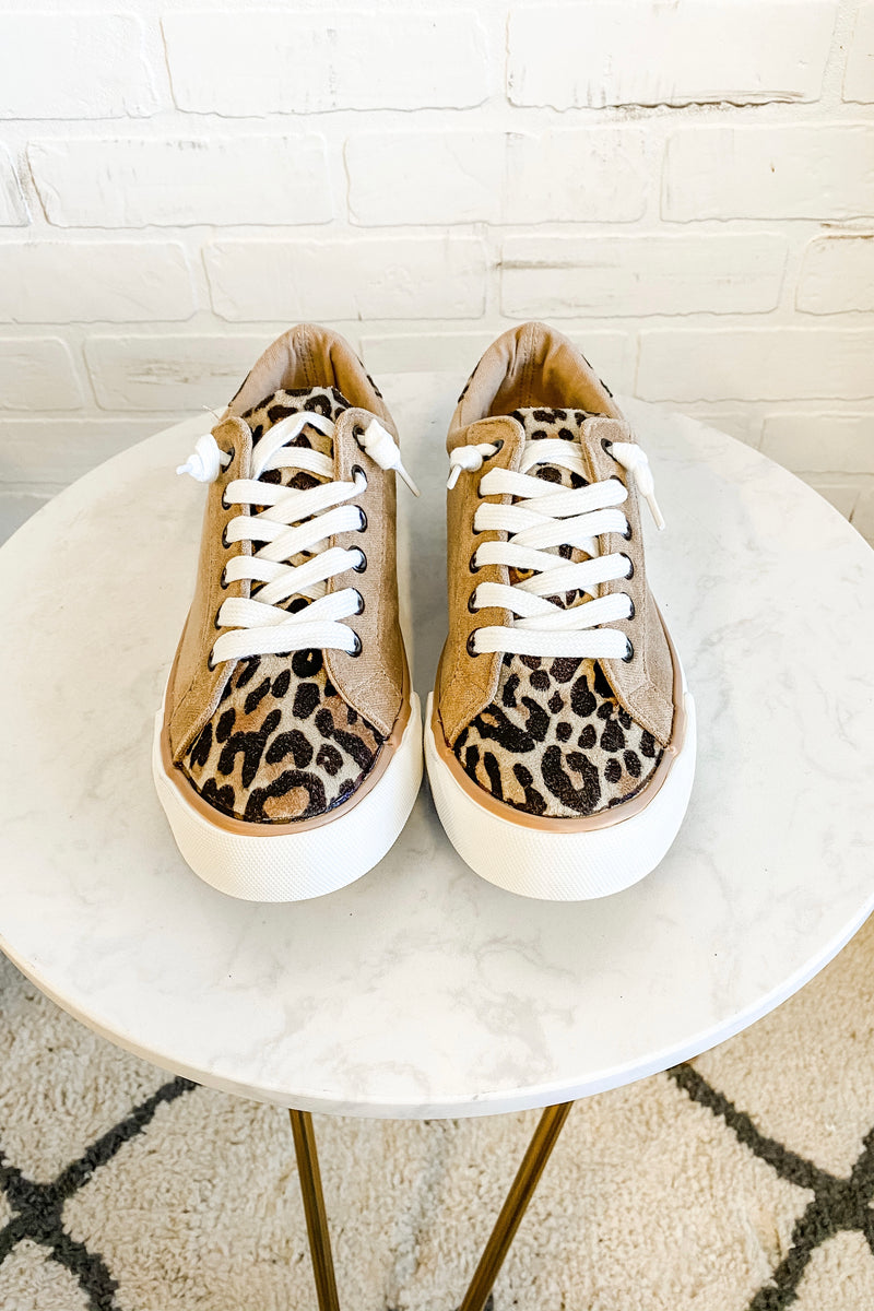 Very G Solstice Leopard Sneaker : Taupe