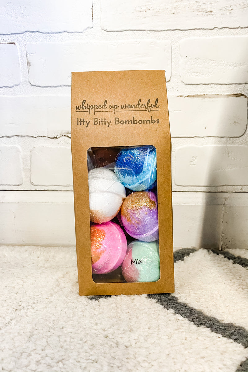Mix Mini Bath Bombs