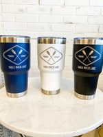 30oz Stainless Steel Tumbler : Table Rock Lake