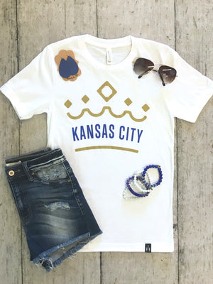 * KC Crown Crew Neck Tee : White
