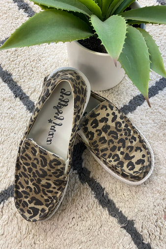 Gypsy Jazz Simi Canvas Boat Shoes : Leopard