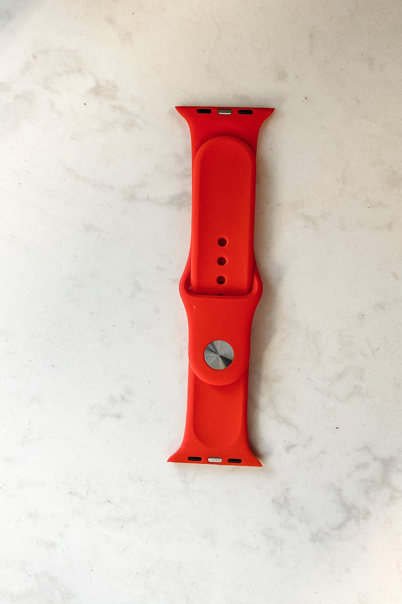 Apple Watch Band : Red